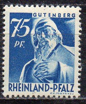Französische Zone - Rheinland-Pfalz, Mi-Nr. 13 **