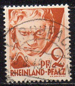 Französische Zone - Rheinland-Pfalz, Mi-Nr. 16 gest.,