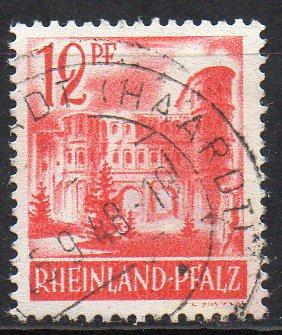 Französische Zone - Rheinland-Pfalz, Mi-Nr. 20 gest.,