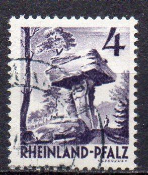 Französische Zone - Rheinland-Pfalz, Mi-Nr. 33 gest.,