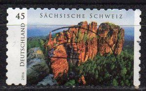 BRD, Mi-Nr. 3251 gest., gestanzt, Sächsische Schweiz