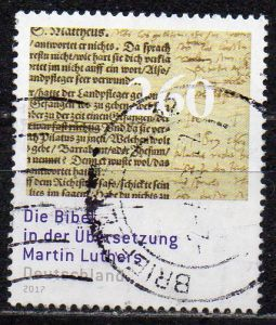BRD, Mi-Nr. 3277 gest., Luther - Bibel