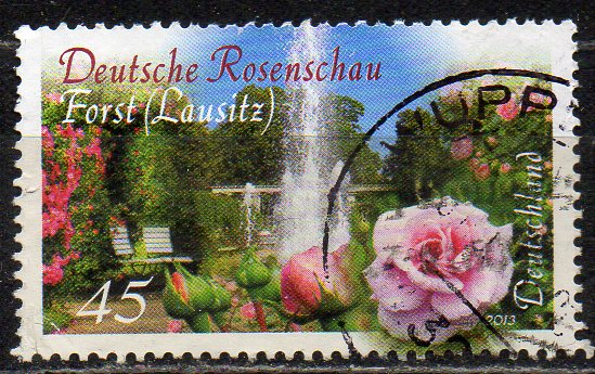 BRD, Mi-Nr. 3012 gest., Deutsche Rosenschau in Forst