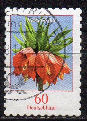 BRD, Mi-Nr. 3046 gest., gestanzt, DS Blumen: Kaiserkrone