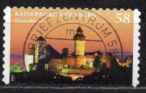 BRD, Mi-Nr. 2978 gest., gestanzt, Kaiserburg Nürnberg