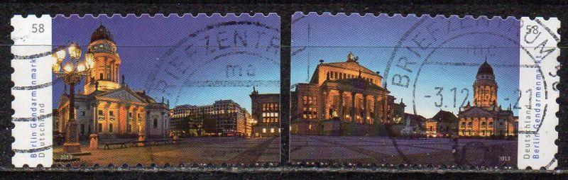 BRD, Mi-Nr. 2987 - 2988 gest., kompl., gestanzt, Gendarmenmarkt, Berlin