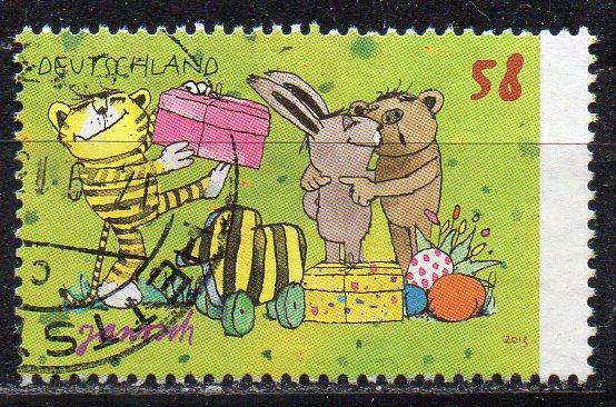 BRD, Mi-Nr. 2993 gest., Janosch-Zeichnung