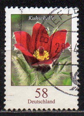 BRD, Mi-Nr. 3043 gest., DS Blumen: Kuhschelle