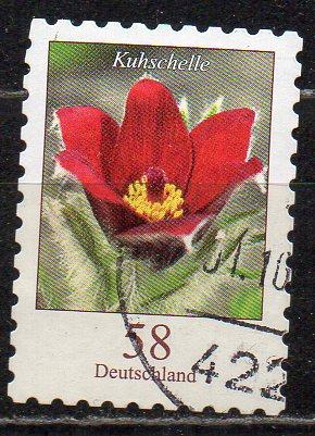 BRD, Mi-Nr. 2971 gest., gestanzt, DS Blumen: Kuhschelle