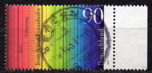 BRD, Mi-Nr. 2907 gest., 225. Geburtstag von Joseph von Fraunhofer