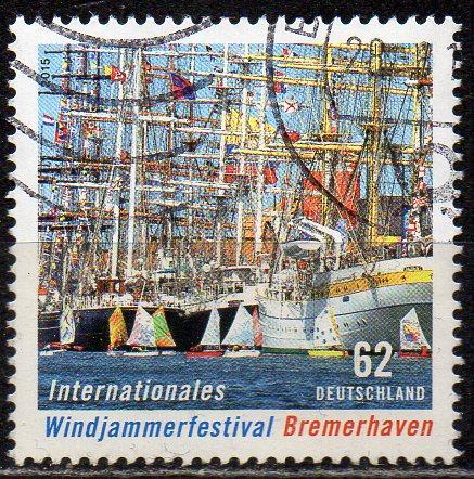 BRD, Mi-Nr. 3172 gest., Windjammerfestival Bremerhaven