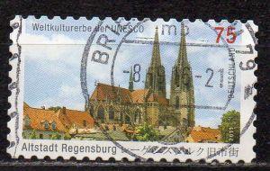 BRD, Mi-Nr. 2850 gest., gestanzt, UNESCO Welterbe - Altstadt von Regensburg