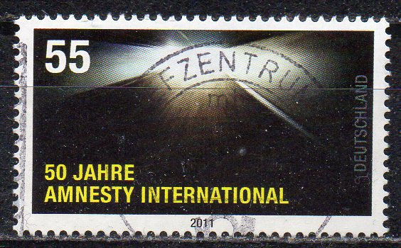 BRD, Mi-Nr. 2873 gest., 50 Jahre Amnesty International