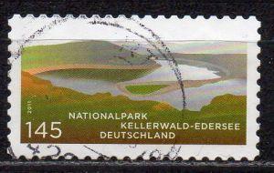 BRD, Mi-Nr. 2863 gest., gestanzt, Nationalpark Kellerwald - Edersee
