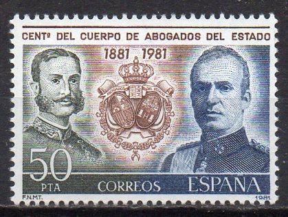 Spanien, Mi-Nr. 2507 **, 100 Jahre Vereinigung der Staatsanwälte