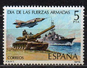 Spanien, Mi-Nr. 2417 **, Tag der Armee