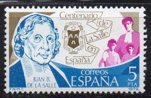 Spanien, Mi-Nr. 2403 **, 100 Jahre Schulen der Christlichen Schulbrüder in Spanien