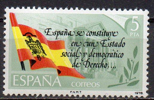 Spanien, Mi-Nr. 2399 **, Neue Verfassung