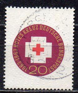 BRD, Mi-Nr. 400 gest., 100 Jahre Internationales Rotes Kreuz