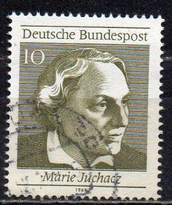 BRD, Mi-Nr. 596 gest., aus Block 5, 50 Jahre Frauenwahlrecht in Deutschland