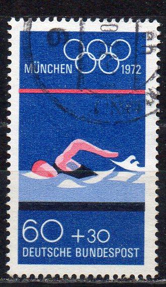 BRD, Mi-Nr. 722 gest., Olympische Sommerspiele 1972 München