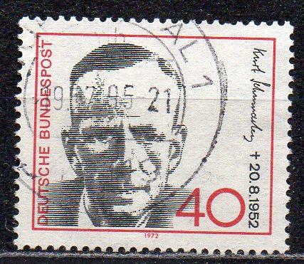 BRD, Mi-Nr. 738 gest., Kurt Schumacher