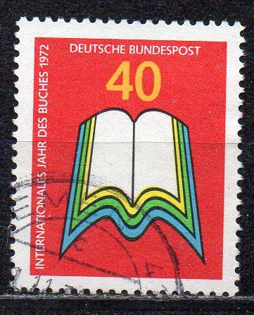 BRD, Mi-Nr. 740 gest., Internationales Jahr des Buches