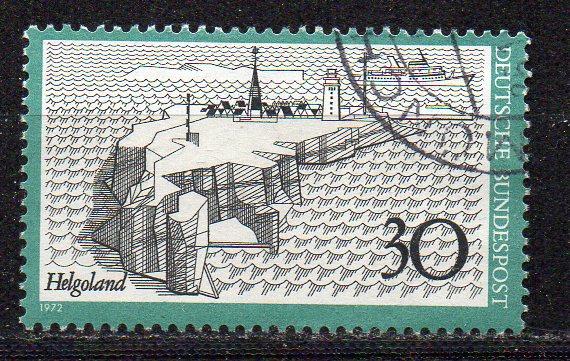 BRD, Mi-Nr. 746 gest., Fremdenverkehr: Helgoland