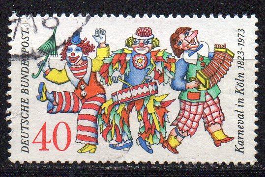 BRD, Mi-Nr. 748 gest., 150 Jahre Kölner Karneval
