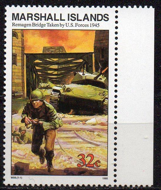 Marshall - Inseln, Mi-Nr. 569 (*), militärisches Motiv