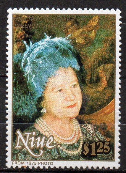 Niue,  Mi-Nr. 765 **, Königin-Mutter
