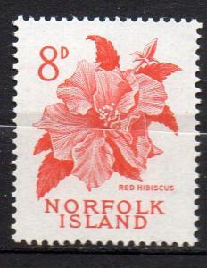 Norfolk Inseln, Mi-Nr. 30 **, Hibiskusblüte