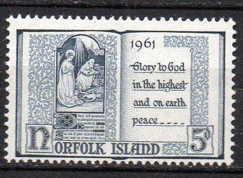 Norfolk Inseln, Mi-Nr. 44 **,  0