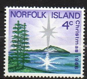 Norfolk Inseln, Mi-Nr. 78 **, Weihnachten 1966