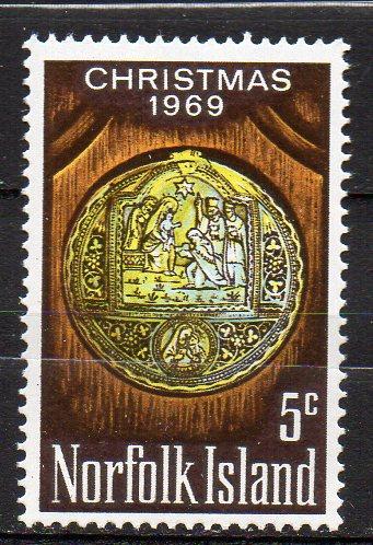 Norfolk Inseln, Mi-Nr. 104 **, Weihnachten 1969 0