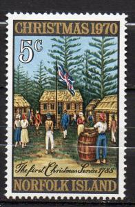 Norfolk Inseln, Mi-Nr. 122 **, Weihnachten 1970