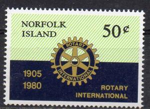 Norfolk Inseln, Mi-Nr. 238 **, Rotarier-Club