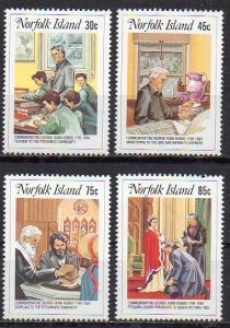 Norfolk Inseln, Mi-Nr. 352 - 355 **, kompl.,