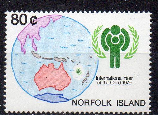 Norfolk Inseln, Mi-Nr. 233 **, Internationales Jahr des Kindes 1979 0