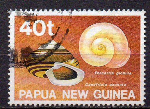 Papua Neuguinea, Mi-Nr. 632 gest., Schnecke