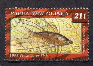 Papua Neuguinea, Mi-Nr. 689 gest., Fisch