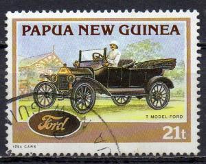 Papua Neuguinea, Mi-Nr. 708 gest., Oldtimer Ford T-Modell