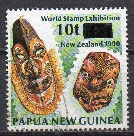 Papua Neuguinea, Mi-Nr. 717 gest., Masken