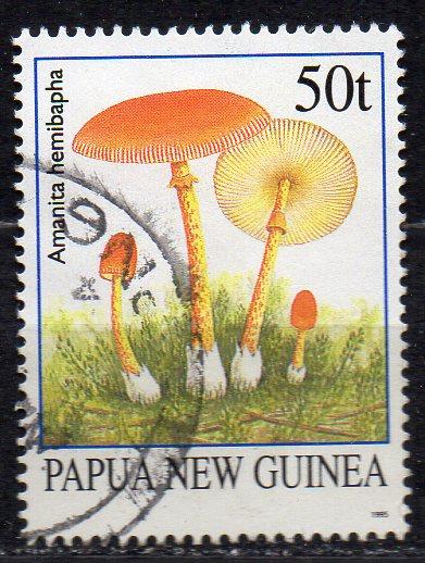 Papua Neuguinea, Mi-Nr. 751 gest., Pilze