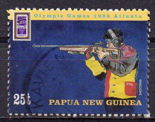 Papua Neuguinea, Mi-Nr. 777 gest., Olympische Sommerspiele 1996 Atlanta