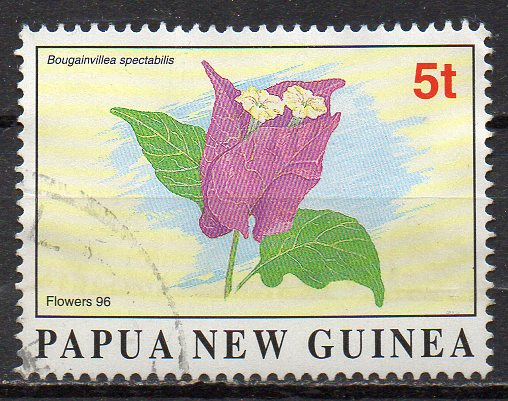 Papua Neuguinea, Mi-Nr. 788 gest., Blüte