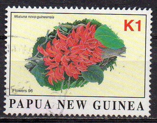 Papua Neuguinea, Mi-Nr. 790 gest., Blüte
