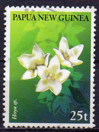 Papua Neuguinea, Mi-Nr. 810 gest., Blüte