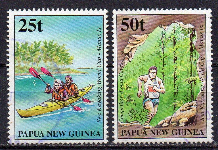 Papua Neuguinea, Mi-Nr. 836 + 837 gest.,