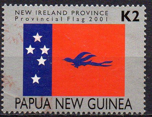 Papua Neuguinea, Mi-Nr. 914 gest., Provinz-Fahne